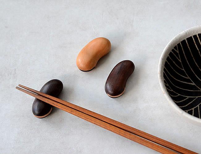 箸置き 豆 *