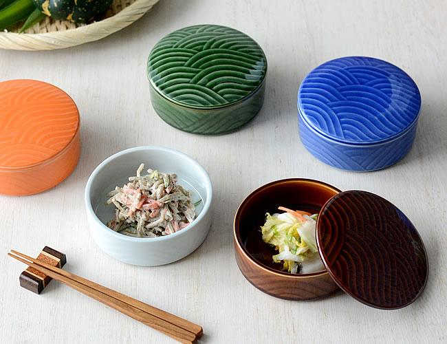 彩色ふたもの 小鉢