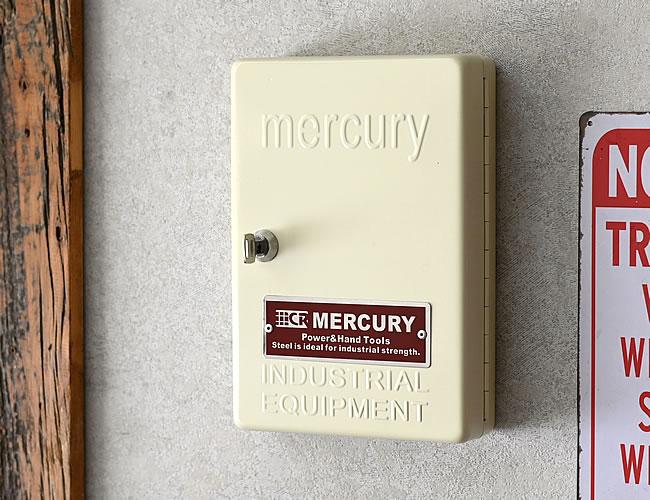 MERCURY キーキャビネット アイボリー