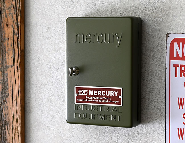 MERCURY キーキャビネット カーキ
