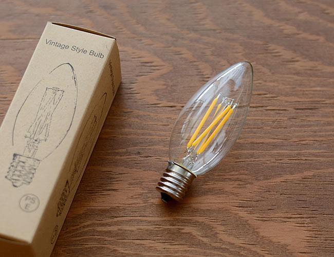 LED電球 E17 シャンデリア型 25W相当