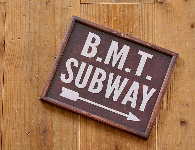 グラフィックフレーム L B.M.T SUBWAY