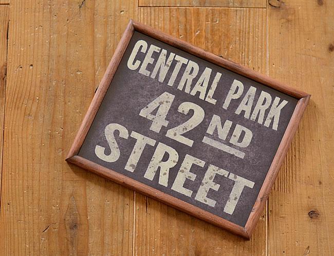 グラフィックフレーム L CENTRAL PARK