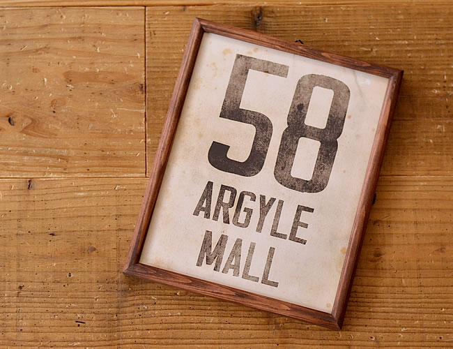グラフィックフレーム L 58 ARGYLE MALL