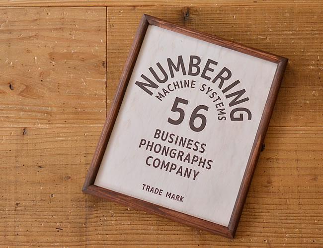 グラフィックフレーム L NUMBERING 56