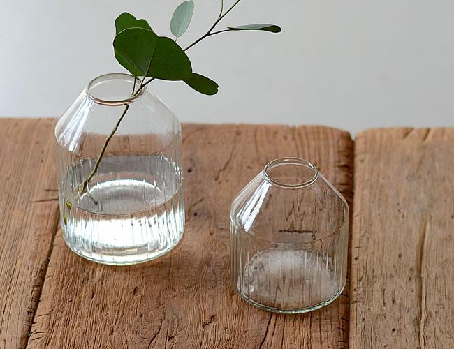 リューズガラス フラワーベース タビー
