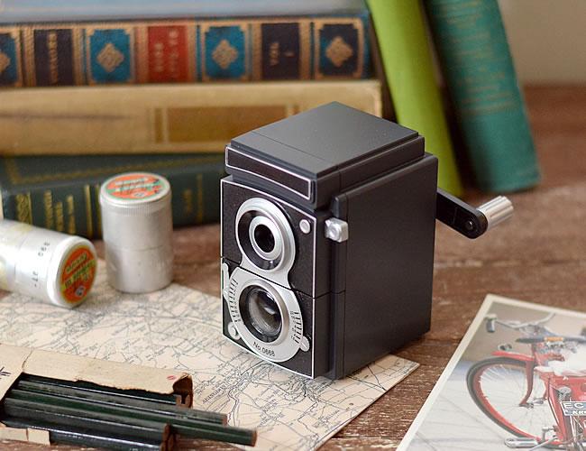カメラペンシルシャープナー