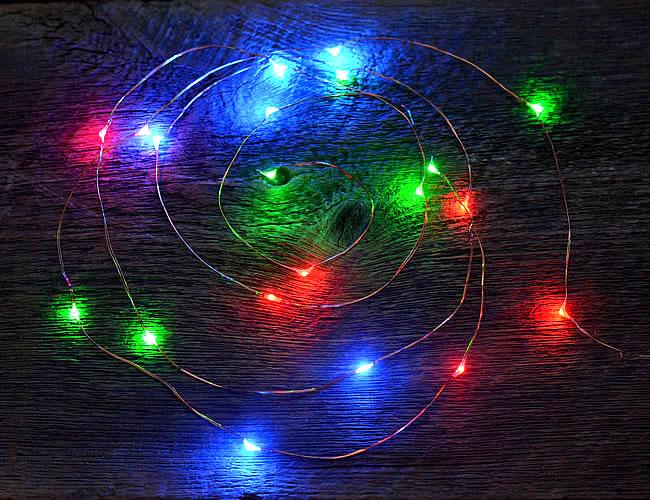 (SALE)LED ストリングライト マルチカラー