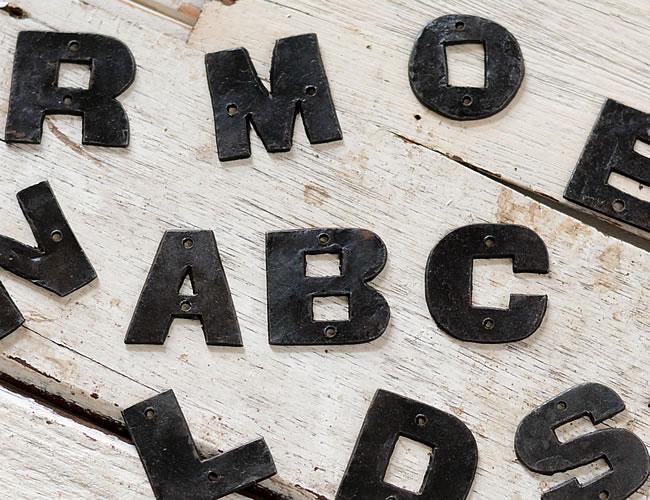 (SALE)アルファベットプレート *