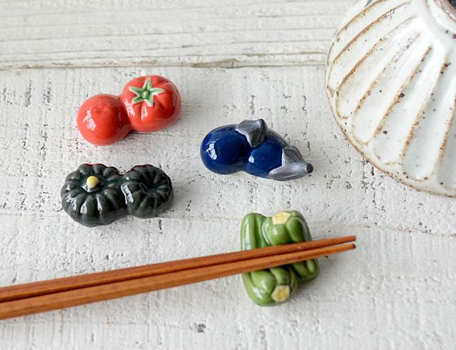 野菜の箸置き
