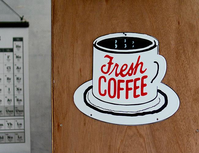 エナメルプレート FRESH COFFEE