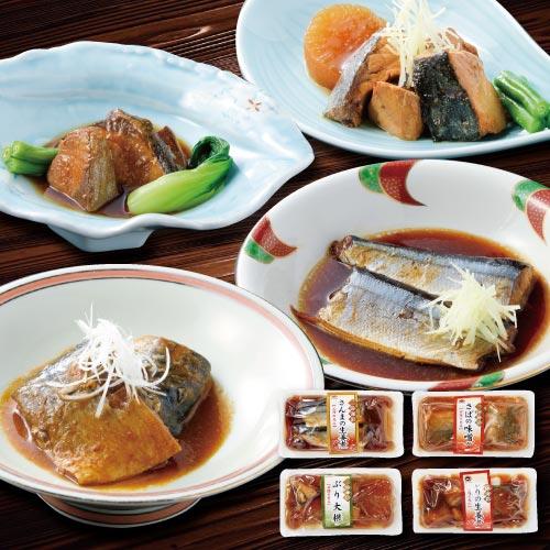 三陸海彩煮魚セット