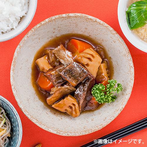 三陸食堂たらと野菜の黒酢煮