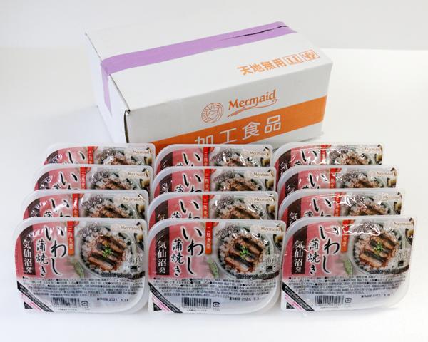 【SK-M-246】箱売り!三陸食堂 いわし蒲焼(120g×12パック入) 送料無料