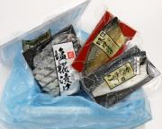 【M-257】三陸素材の「手造り漬魚」セット 発泡入(3種×各1パックセット)