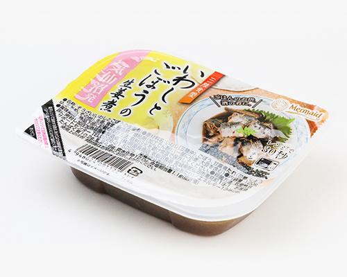 三陸食堂いわしとごぼうの生姜煮