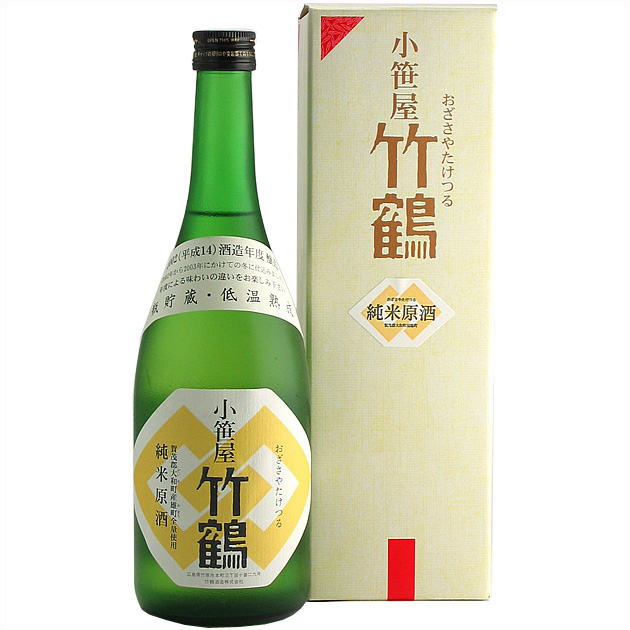 小笹屋竹鶴大和雄町純米原酒720ML