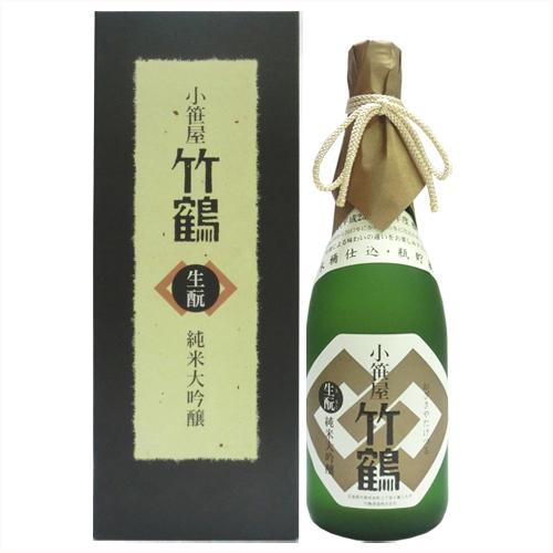 小笹屋竹鶴生もと純米大吟醸原酒720Ml