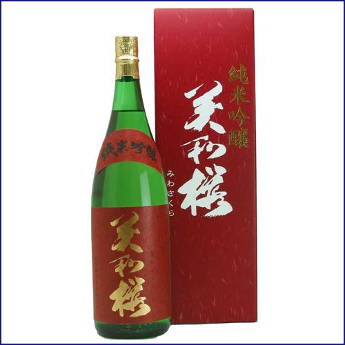 美和桜純米吟醸1800
