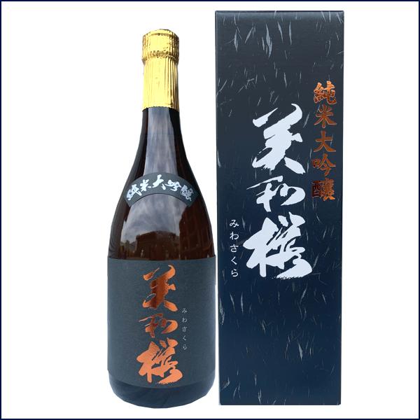 美和桜純米大吟醸原酒
