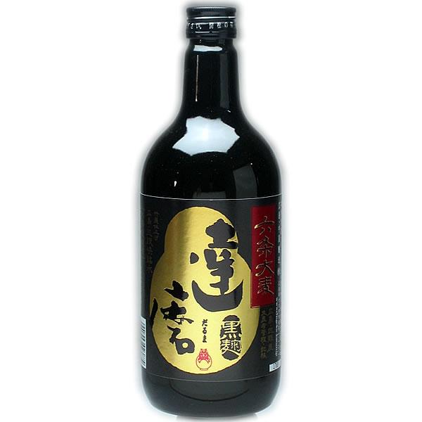 一代 達磨(だるま)黒麹 六条大麦720ml