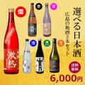 6種から3種選べる日本酒セット