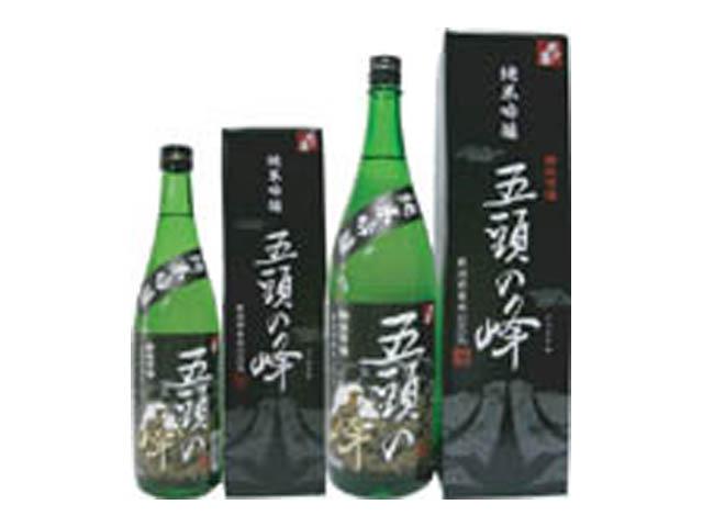 純米吟醸酒 五頭の峰 720ml