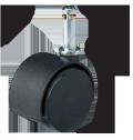 ナイロンキャスター 車輪直径50mm(軸34.2L) <ネット限定・お得!5個セット> W12910XOG10SET5