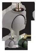 ナイロンキャスター 車輪直径50mm <ネット限定・お得!5個セット> W13180XSET5