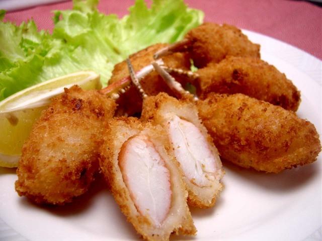 手作り ずわい蟹 カニ爪フライ 8〜10本 180g