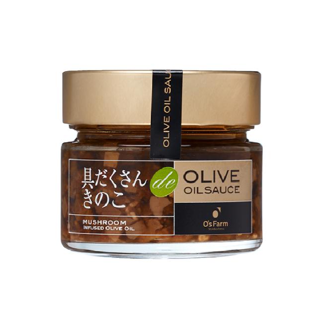 具だくさんきのこ de OLIVE OIL SAUCE
