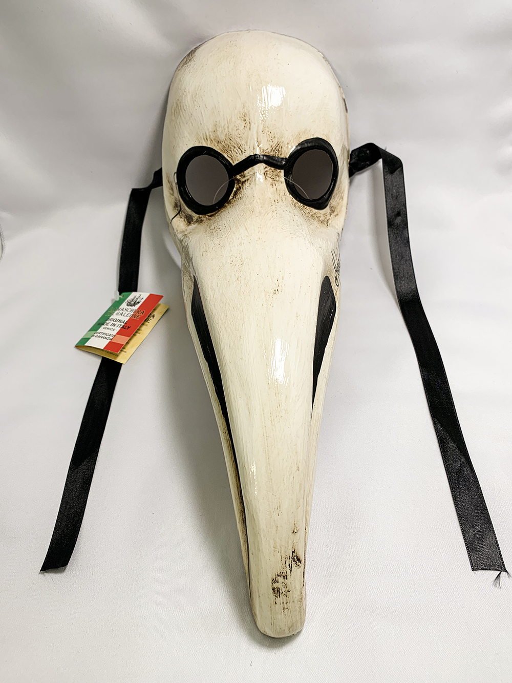 イタリアンカーニバルマスク ペスト医師 オッソ Lサイズ