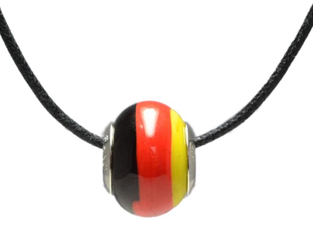 バレンティナビーズ&925シルバー ドイツカラー ネックレス付き