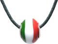 バレンティナビーズ&925シルバー イタリアカラー ネックレス付き