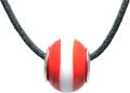 バレンティナビーズ&925シルバー デンマークカラー ネックレス付き