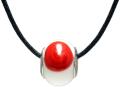 バレンティナビーズ&925シルバー 日本カラー ネックレス付き
