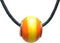 バレンティナビーズ&925シルバー スペインカラー ネックレス付き