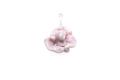 ムラーノグラス バラのペンダント ピンク ネックレス付き