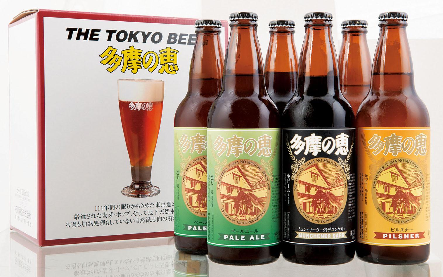 石川酒造「多摩の恵」6本セット【送料込み】ITB-6