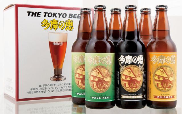 石川酒造「多摩の恵」6本セット【化粧箱入り】ITB-6