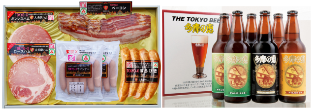 【石川酒造コラボ商品】TOKYO-Xハム&多摩の地ビール6本セット OXL-100