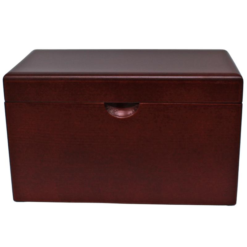 木製BOXオルゴール 大【ダークブラウン】