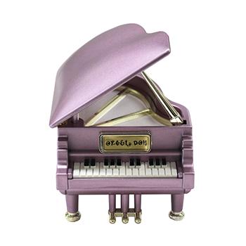 ピアノ型オルゴール【ピンク】PS-601