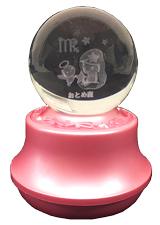MA27-O 星座3Dレーザーボールオルゴール【おとめ座】
