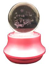 MA27-S 星座3Dレーザーボールオルゴール【さそり座】