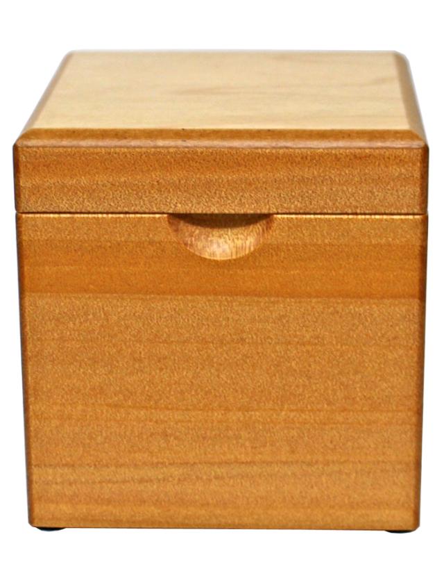 木製BOXオルゴール【ナチュラル】