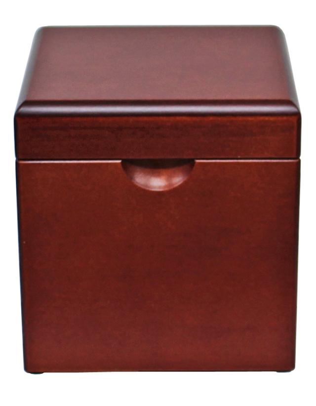 木製BOXオルゴール【ダークブラウン】