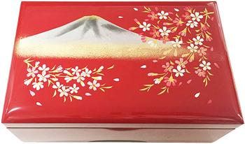 イージーオーダー18N 会津塗宝石箱(M)【富士に桜・標準メカ】