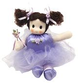 GA-162B 人形オルゴール  ローズバレリーナ【ラベンダー】