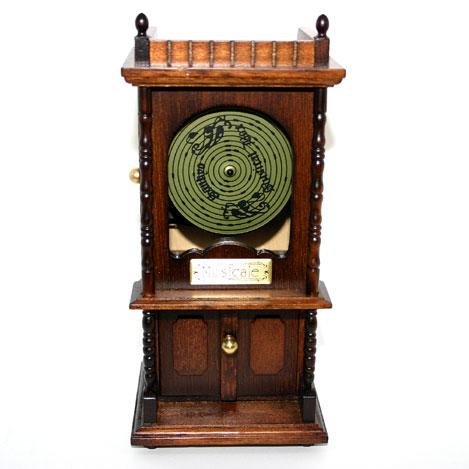 木製アンティーク【ディスクオルゴール】B627